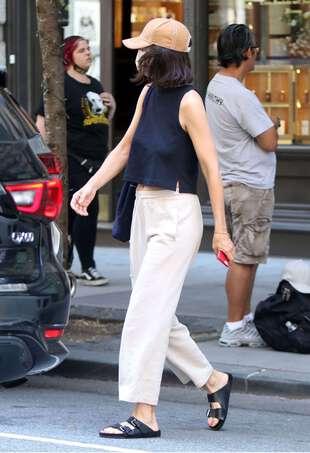 Katie Holmes, le 29 juin, à New York.