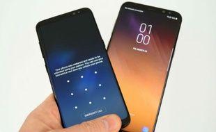 Les Samsung Galaxy S8 et S8 Plus, smartphones haut de gamme 2017 du constructeur sud-coréen.