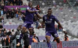 L'arrière gauche du TFC Issiaga Sylla a inscrit le seul but du match de Ligue 1 contre Nantes, ce dimanche au Stadium de Toulouse.