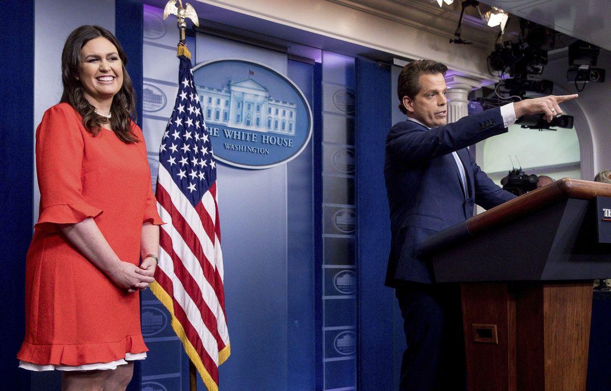 Dr 244 Le Tr 232 S Croyante Et Jeune Sarah Huckabee Sanders Est Le Nouveau Visage De La Maison Blanche