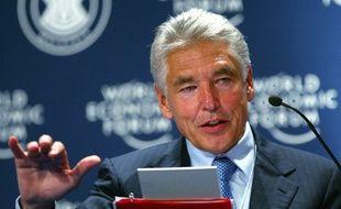 Peter Brabeck-Letmathe, en 2008. Il était à l'époque PDG de Nestlé.