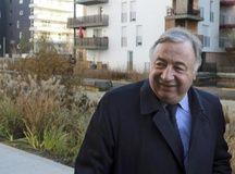 Le président du Sénat Gérard Larcher à Bordeaux le 12 janvier 2015