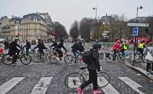Le nombre de cyclistes à Paris explose depuis quelques années