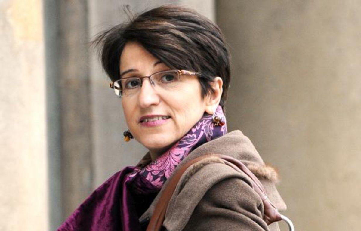 Dominique Versini, quand elle était défenseure des enfants, le 20  Novembre 2007 à Paris. – AFP PHOTO / ERIC FEFERBERG