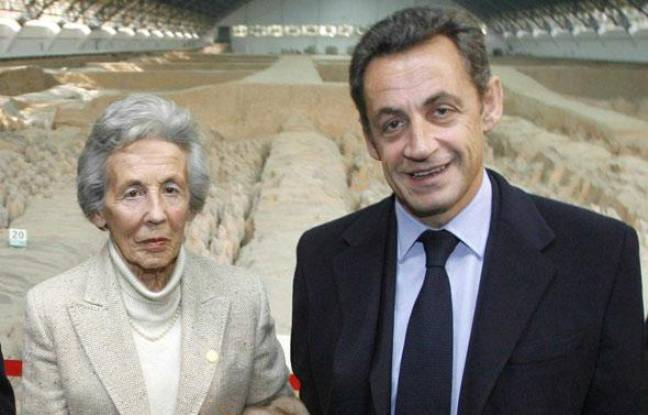 Andrée Sarkozy, la mère de l'ancien président Nicolas Sarkozy, est décédée à 92 ans