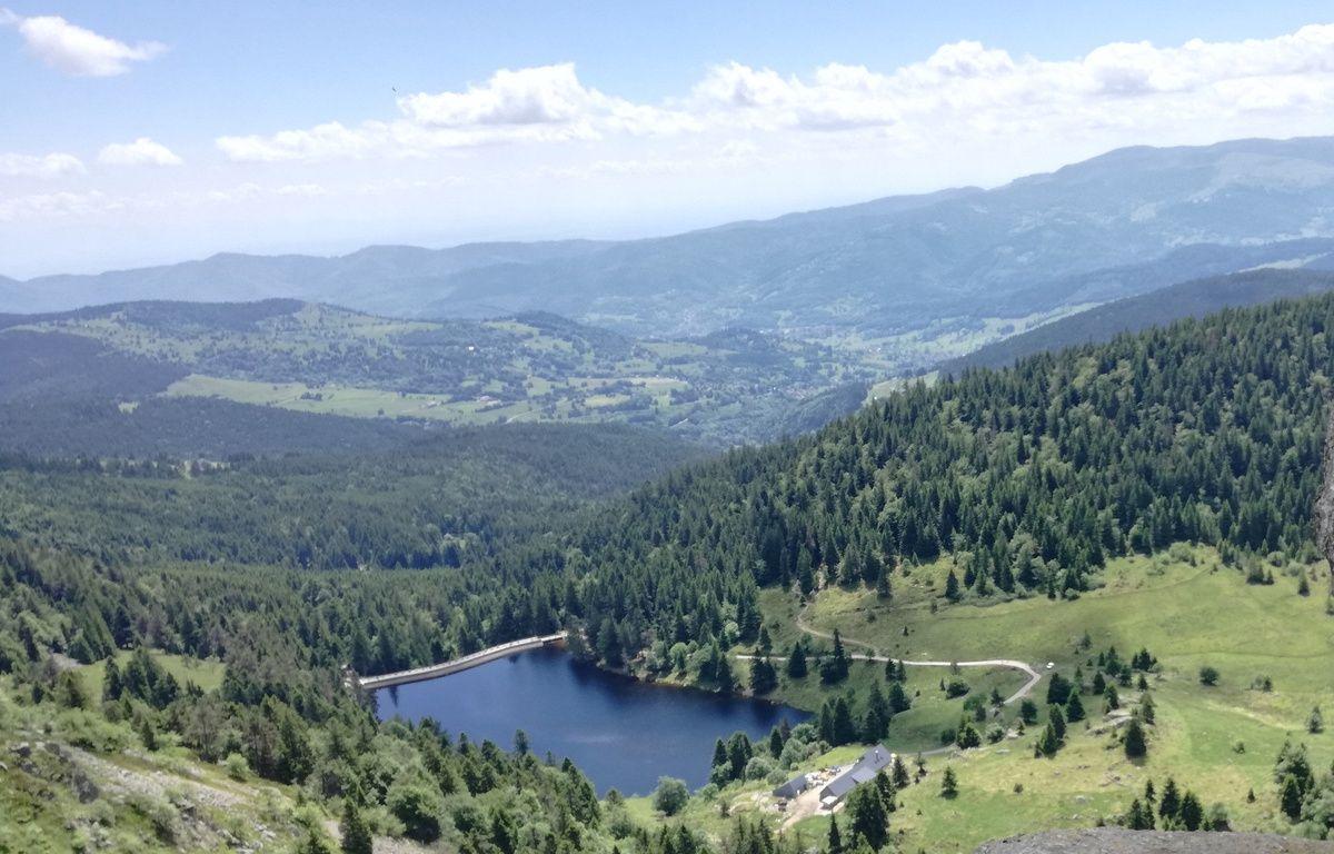 Le lac des truites se trouve à proximité de la route des Crètes, entre l'Alsace et les Vosges. – B. Poussard / 20 Minutes.