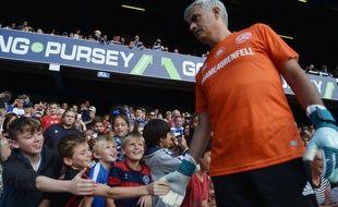 José Mourinho, l'entraîneur de Manchester United, a participé le 2 septembre au match de foot caritatif pour les victimes de la tour Grenfell à Londres.