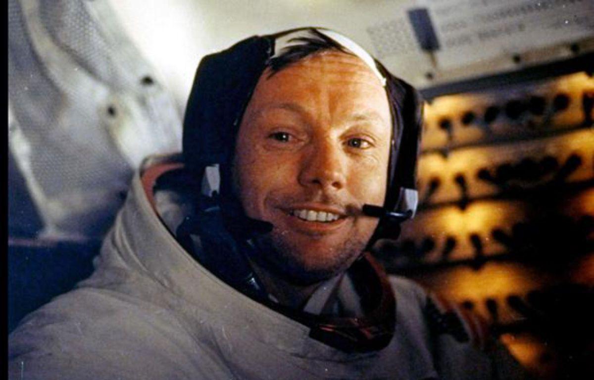 Neil Armstrong,le 20 juillet 1969. – AP/SIPA