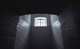 Une cellule de prison (illustration).