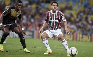 Le Brésilien Fred sous le maillot de Fluminense