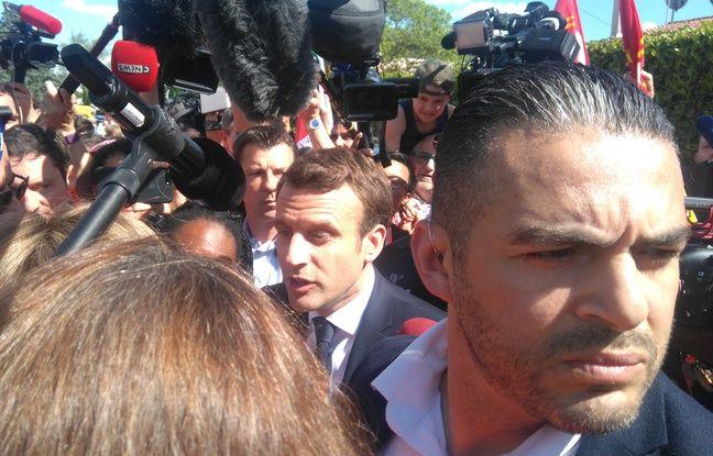 A Albi, sur les terres de Jaurès, un comité d'accueil interpelle Macron sur la loi Travail dans actualitas dimanche 648x415_emmanuel-macron-verrerie-ouvriere-albi-4-mai-2017