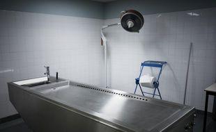 Des corps donnés à la science entassés dans un état épouvantable pendant des années à l'université Paris-Descartes. Une morgue, ici à l'hôpital de l'AP-HP Bichat-Claude-Bernard. (illustration)