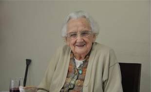 Marcelle, pensionnaire heureuse de Sudalia.