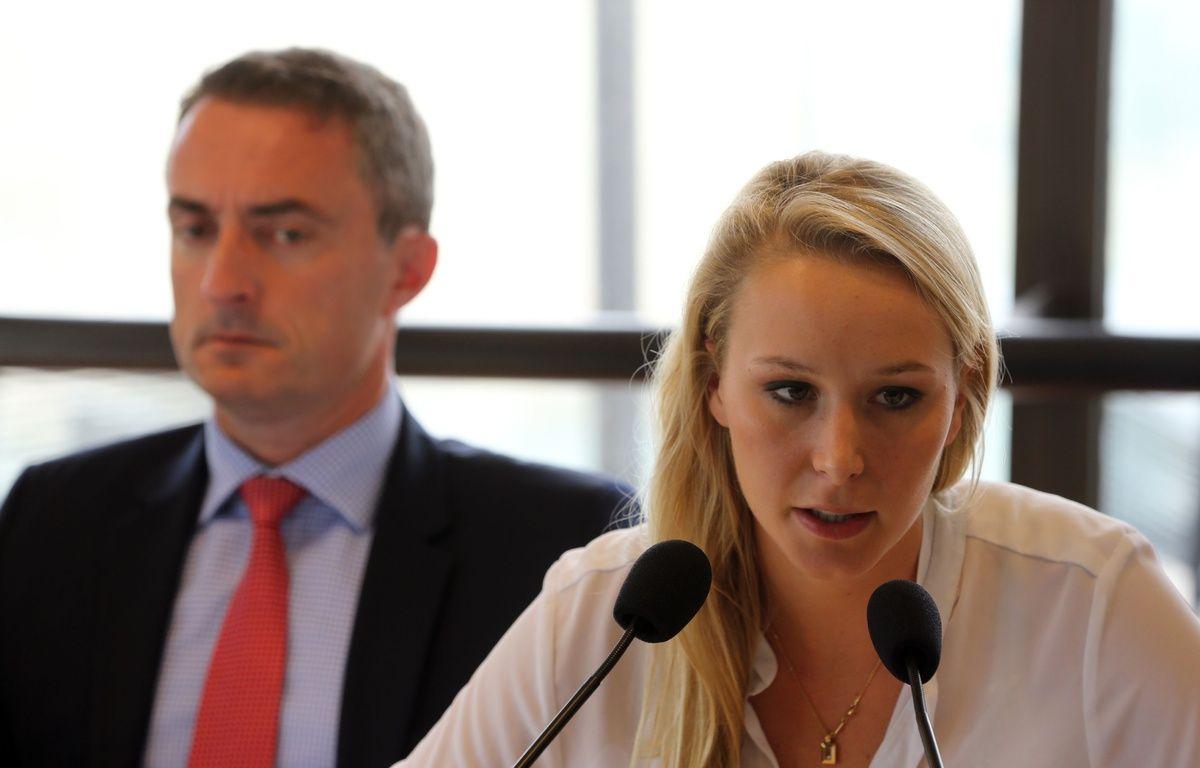 Stéphane Ravier, et Marion Maréchal-Le Pen.  – SIPA