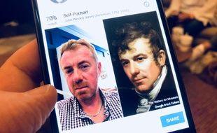 Avec Google Art Selfie, on peut débusquer un (presque) sosie caché dans un tableau.