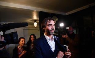 Le candidat dissent à la mairie de Paris, Cédric Villan