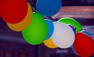 Illustration de ballons