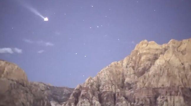 VIDEO. Le désert de Las Vegas filmé de nuit, comme en plein jour!