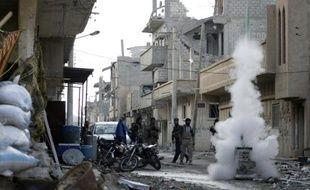 Illustration de la ville de Deir Ezzor en Syrie, le 16 février 2014.