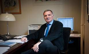 Loïc Gouello, chef du corps des inspecteurs de la santé publique vétérinaire, en mars 2011.