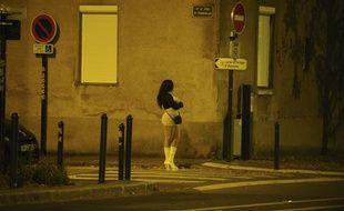 Une prostituée à Nantes.