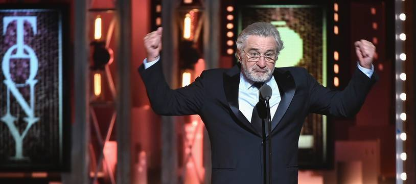 Robert de Niro aux Tony Awards, le 10 juin 2018.