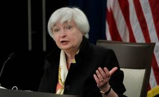 La présidente de la banque centrale américaine (Fed) Janet Yellen le 15 juin 2016 à Washington