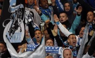 Des supporters de l'OM au stade Vélodrome, le 9 novembre 2014.