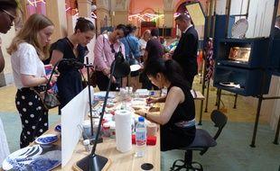 10 artisans sont présents pour faire découvrir leur savoir-faire