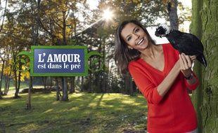 Karine Le Marchand, animatrice de la saison 9 de L'amour est dans le pré.