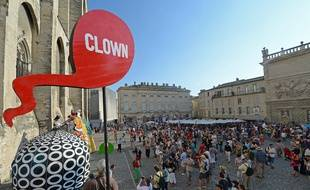 Illustration du festival d'Avignon