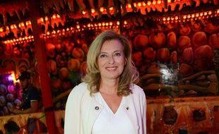 Valérie Trierweiler lors de la présentation du livre «Le secret d'Adèle»