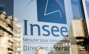 Le logo de l'Insee.