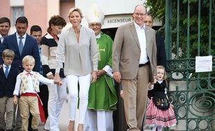 Jacques et Gabriella, les jumeaux du couple princier monégasque, ont effectué leur rentrée.