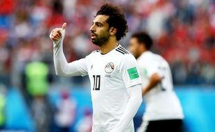 Mohamed Salah lors de la Coupe du monde 2018.