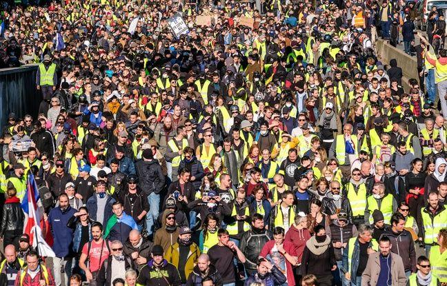 «Gilets jaunes» à Lyon: Les manifestations interdites dans trois périmètres samedi pour l'acte 44
