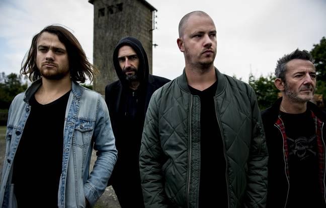 Le groupe de rock rennais Darcy.