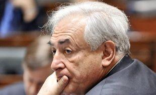 Dominique Strauss-Kahn, le 4 décembre 2010, à Bruxelles.
