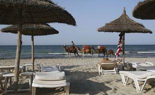 Une plage de Djerba en Tunisie.