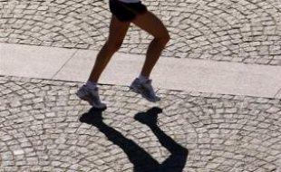 Une joggeuse. (Illustration)