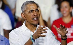 Barack Obama en novembre 2018.