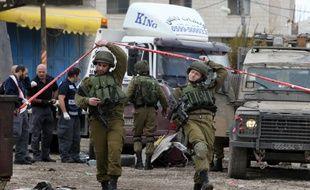 Des soldats israéliens dans la ville de Naplouse en Cisjordanie occupée (Photo illustration).