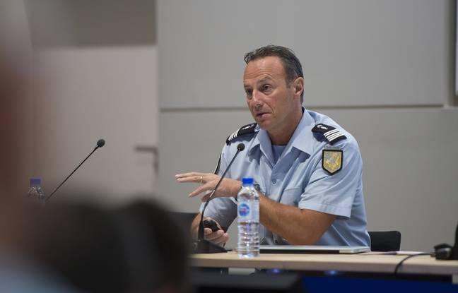 Le colonel Eric Emeraux commande l'OCLCH depuis 2017