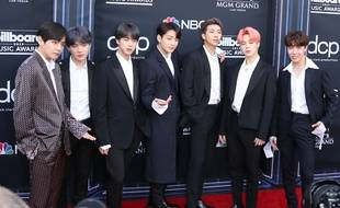 Le groupe BTS aux Billboard Music Awards 2019