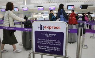 La compagnie Hong Kong Express s'est excusé pour avoir obligé une femme a passer un test de grossesse. (Illustration).