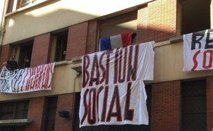 Le Bastion social est né de l'ouverture de ce squat destiné aux ''Français de souche'' dans le centre de Lyon, fin mai 2017.