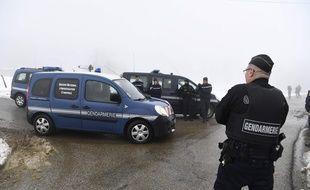 Le parquet de Valence a rouvert les dossiers des disparitions d'Eric Foray et Nelly Balmain afin de vérifier qu'ils n'auraient pas croisé Nordahl Lelandais.  AFP PHOTO / PHILIPPE DESMAZES