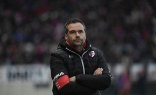 Ugo Mola, l'entraîneur du Stade Toulousain. Illustration.