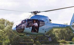 Un hélicoptère (illustration).