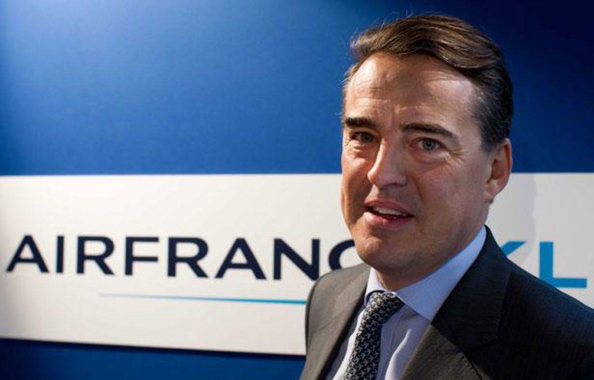 Alexandre de Juniac, PDG d'Air France, le 8 mars 2012. – PRM/SIPA